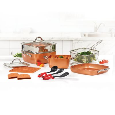 COPPER CHEF SQUARE PAN 15PC SET